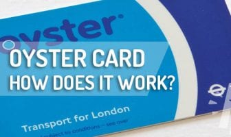 HOW TO USE OYSTER CARD LONDON