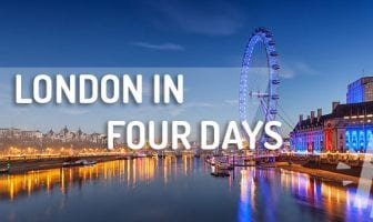 London in four days