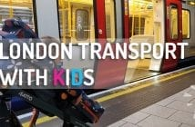 Travelling in London with kids