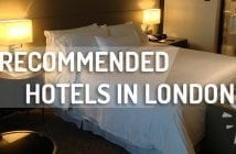 recommended hotels in London
