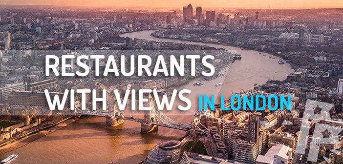 Best Restaurants with a view in London