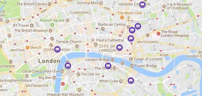 London Markets Map