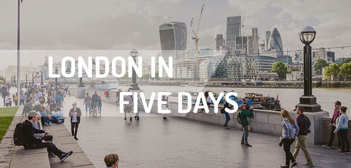 London in five days