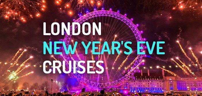 London New Years eve Cruises